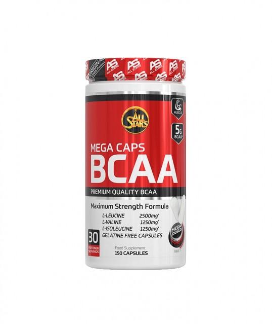 MEGA CAPS BCAA 5000mg, 150caps, ALL STARS