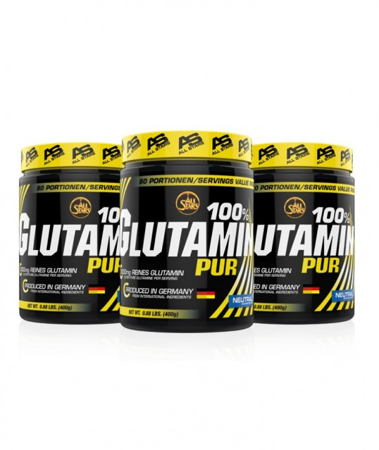 GLUTAMIN PURE 400G, ALL STARS