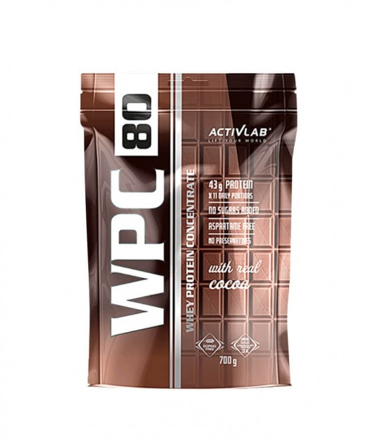 WHEY PROTEIN CONCENTRATE 80, 700G, ACTIVLAB